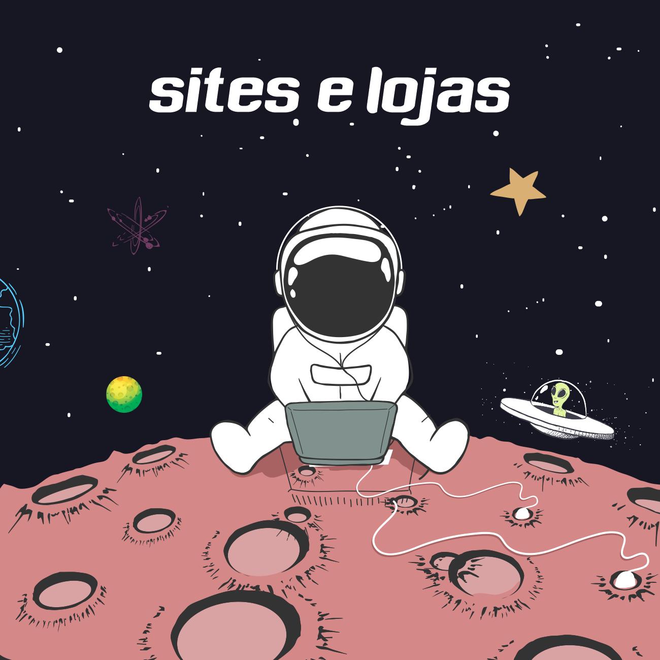 sites e lojas